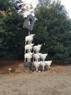 alle schaapjes op een stevig I-profiel gespietst oct 2013