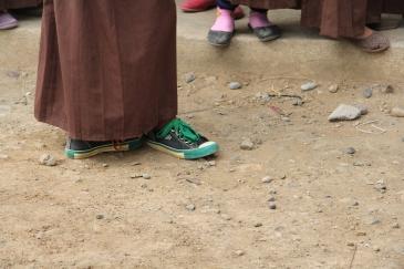 Moslima on sneakers of niet...