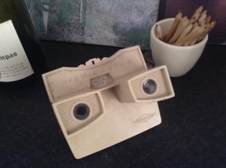 de ViewMaster, onder het stof natuurlijk