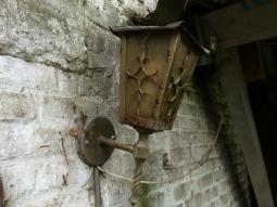 nog een oorspronkelijke Eskens brocante stallamp