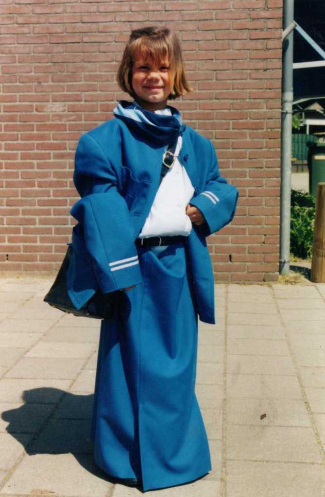 Anne ging destijds zeker het KLM gevoel doorgeven