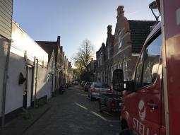 Narrow streets in Frenstjer